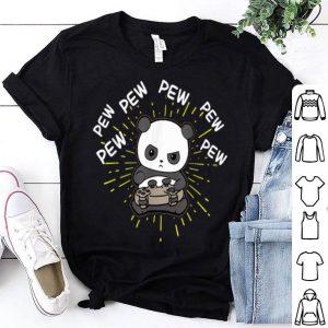 Pew Pew Gaming Panda Shirt