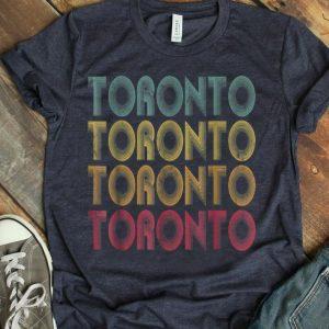 Retro Toronto Canada Vintage shirt