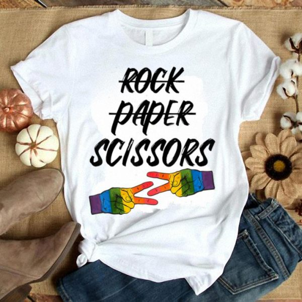 Rock Paper Scissors LGBT World Pride 2019 shirt