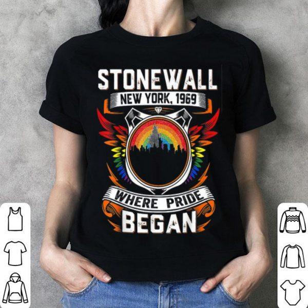 Stonewall New York 1969 Where Pride Began shirt