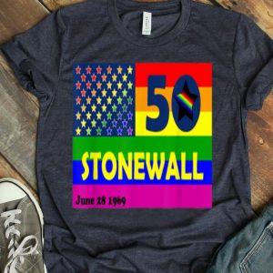 Stonewall Riots 50th NYC Gay Pride LGBTQ Rights shirt