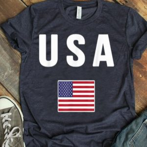 Usa American Flag Us America United States 4th July shirt