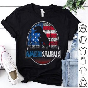 Vintage American T-Rex 4th of July for Men Women shirt
