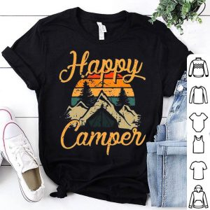Vintage Happy Camper Happy Summer Shirt