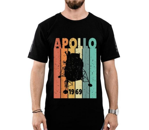 50th Anniversary Apollo 11 Lunar Landing 1969 Retro 90s shirt