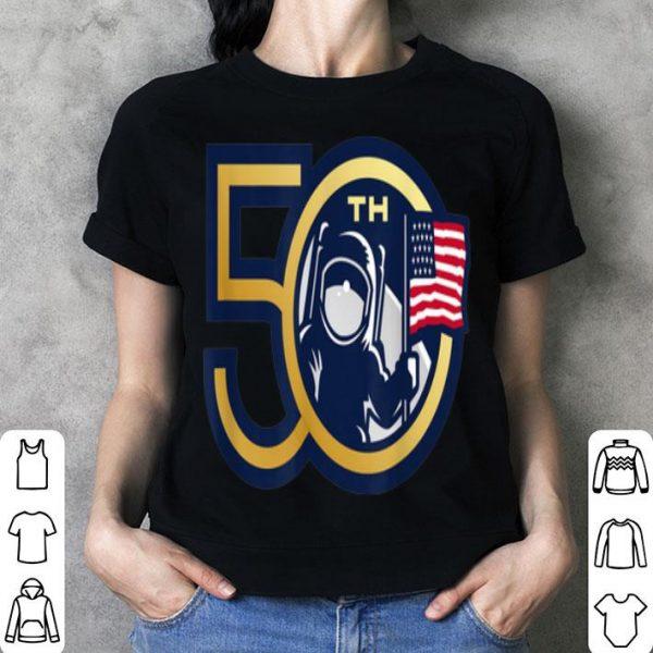 50th Anniversary Moon Landing Apollo 11 Man On Moon shirt