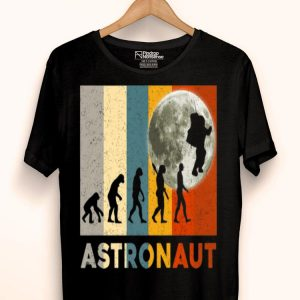 50th Anniversary Moon Landing Vintage Astronaut Evolution Giant Leap shirt