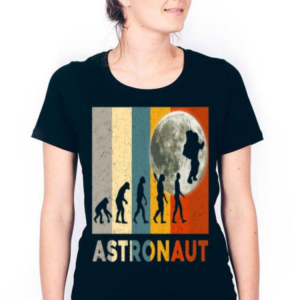 50th Anniversary Moon Landing Vintage Astronaut Evolution Giant Leap shirt