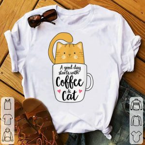 A Good Day Starts With Coffee And Cat sweater