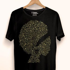 Afro Jazz Diva Black Girl Melanin Gold Music Lover shirt