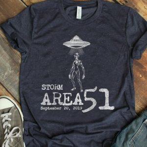 Alien Storm Area 51 Sept 20 UFO shirt
