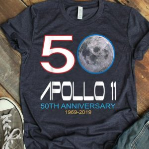 Apollo 11 50TH Anniversary 1969-2019 Moon shirt
