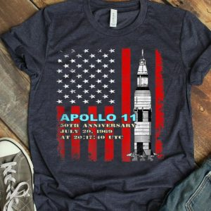 Apollo 11 50th Anniversary American Flag shirt