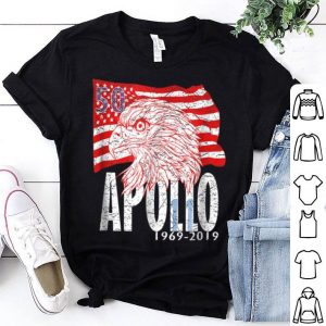 Apollo 11 50th Anniversary I Distressed Eagle Flag shirt
