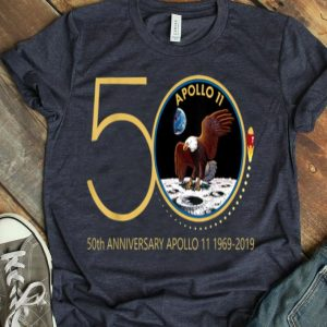 Apollo 11 50th Anniversary Moon Landing 1969-2019 First Step On The Moon shirt