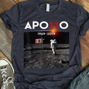 Apollo 11 50th Anniversary Moon Landing Science Lover American Proud shirt