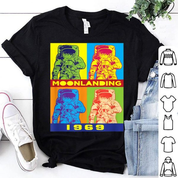 Apollo 11 Pop Art Design For 50th Anniversary shirt