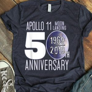 Apollo Moon Landing 50th Anniversary Recognition 1969 - 2019 shirt