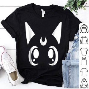 Artemis Magical Sailor Cat Crescent Moon Anime Nerdy shirt