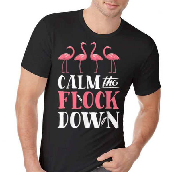Calm The Flock Down Flamingo Lovers Summer sweater