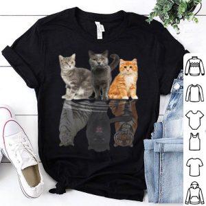 Cat Reflection Puma Cheetah Tiger shirt