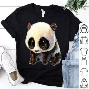 Cute Baby Panda Bear Panda For Girls shirt