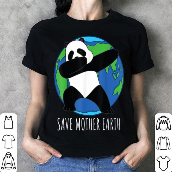 Earth Day Panda Save Mother Earth Childs shirt