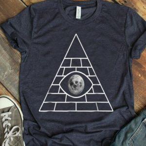 Fake Moon Landing Conspiracy Theory Illuminati shirt