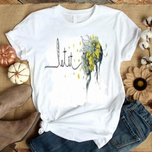Funny Let It Bee Sunflower Hippie shirt