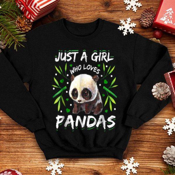 Just A Girl Who Loves Panda Cute shirt