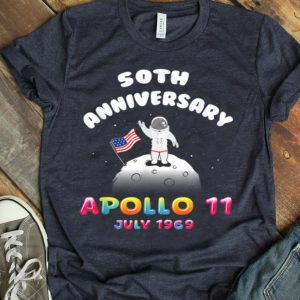 Kids 50th Anniversary Apollo 11 Moon Landing shirt