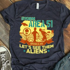 Let's See Them Aliens Free The Aliens UFO Memes shirt