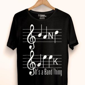 Music Loverians Band Geek Music Lover Notes Spelling shirt