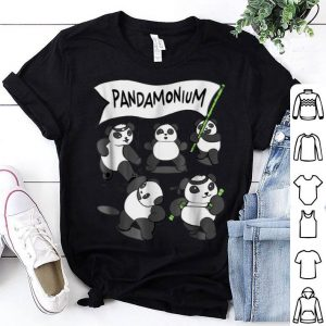 Pandamonium - Funny Panda Bear shirt