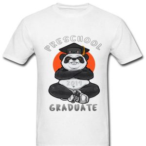 Preschool Class Of 2019 Panda Graduate Premium shirt