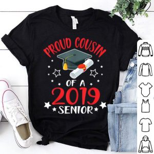 Proud Cousin Of A 2019 Senior Graduate Star Vintage shirt