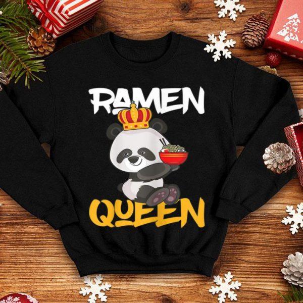Ramen Queen Otaku Panda Anime Manga Comic And shirt