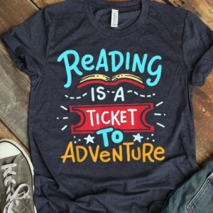 Reading Adventure Student Teacher Book shirt
