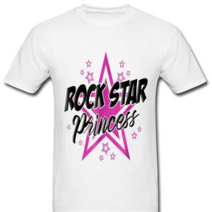 Rockstar Princess Party Sassy Music Lover Girlsns shirt