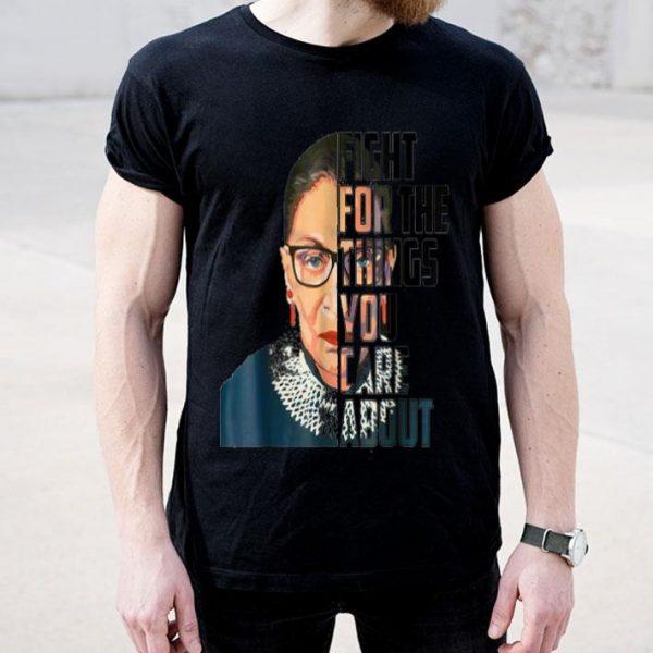 Ruth Bader Ginsburg Fight Feminist Political Resist shirt