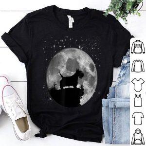 Scottish Terrier Dog Mom Moon Landing 50th Anniversary shirt