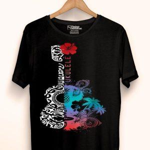 Tattoo Tribal Pattern Ukulele - Hawaii Music Lover shirt