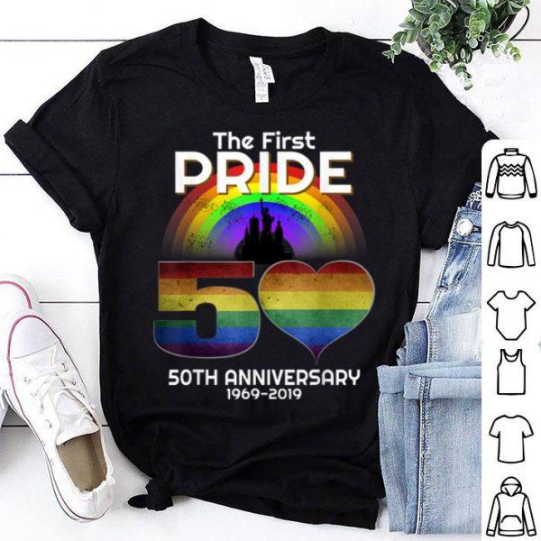 The First Pride 50Th Anniversary LGBT Gay Pride NYC Rainbow shirt