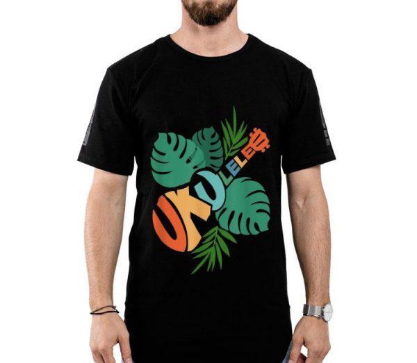 Ukulele Hawaii Tropical Music Lover Ukulele Player Music Lover shirt