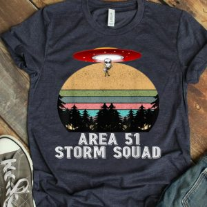 Vintage Area 51 Storm Squad Aliens UFO shirt