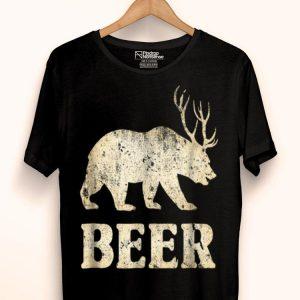 Vintage Bear Deer Beer shirt