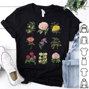 Vintage Botanical Floral Flower shirt