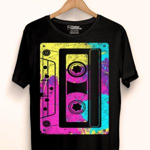 Vintage Retro Music Lover Cassette Tapes Mixtape 80s And 90s shirt
