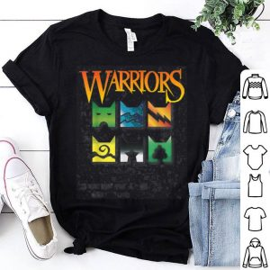 Warrior Cats Clan Icons Boy And Girls Book Readers shirt