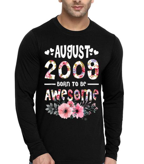 August 2009 Awesome 10th Birthday Flower Girl shirt